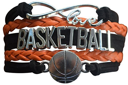 Basketball Charm Bracelet - Infinity Love...