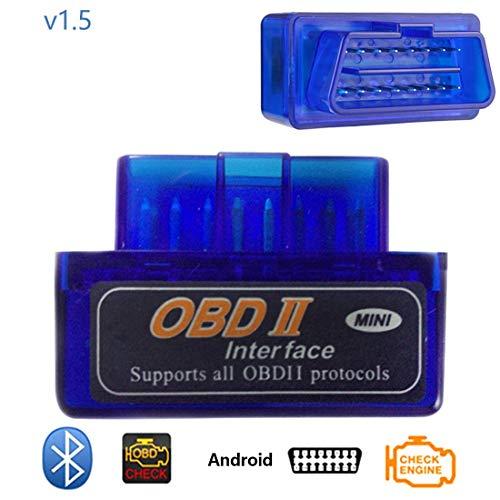 Bluetooth V2.1 Mini Lecteur de Code de Voiture Super OBD2 Mini Elm 327 de Diagnostic d'outil de Diagnostic pour Le protocole ODB2 OBDI2
