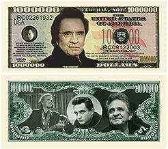 (25) Johnny Cash Million Dollar Bill