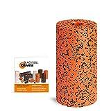 Blackroll Orange Pro Faszienrolle - Faszien Massagerolle (orange) für Faszientraining mit Anleitung