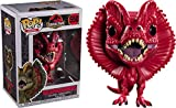 Desconocido Funko Pop! Movies: Jurassic Park - Dilophosaurus (Limited Red Edition) #550...