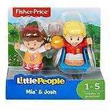Fisher-Price Little People Josh & Mia Figures
