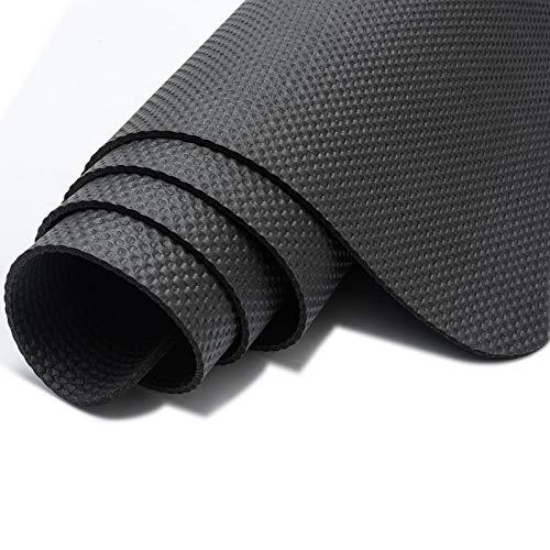 APJJ Antirutschmatte für Heimtrainer, Crosstrainer, Rudergeräte, Laufbänder und Spinning Bikes, rutschfest Strapazierfähig Schutzmatte Unterlegmatte,1800 * 600