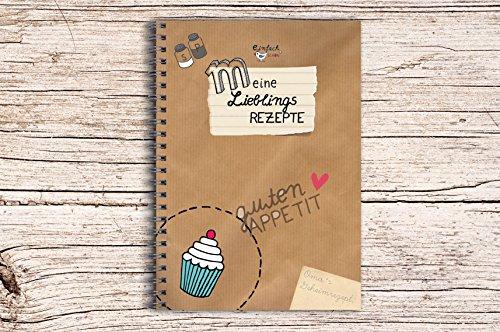 Rezeptbuch Kochbuch DIN A5 einfachSchön zum Selberschreiben