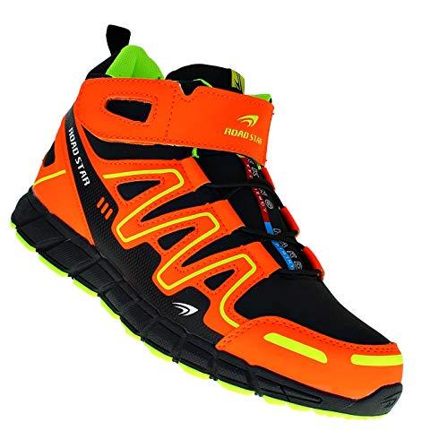 Bootsland 722 High Top Stiefel Herrenstiefel Herren Skater Sneaker, Schuhgröße:43