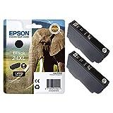 Epson Original 24XL - Cartuccia d'inchiostro ad alta capacità, colore: Nero