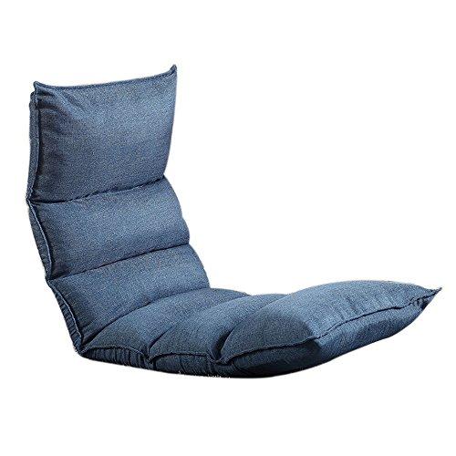 L-R-S-F Canapé paresseux, canapé simple pliant, canapé à six rangées amovible, fauteuil d'ordinateur de lit, balcon au sol, canapé ajustable au dortoir (Couleur : # 6)