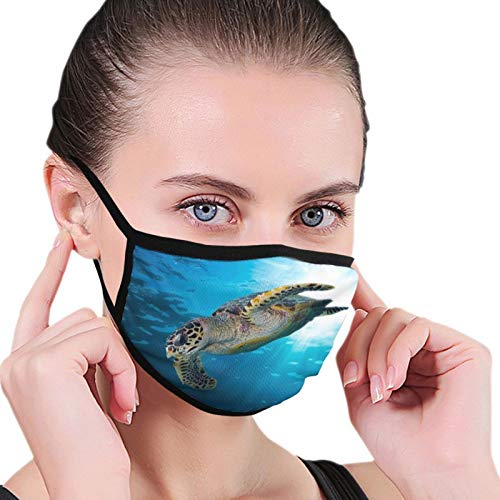 Turtle Face Mask 3D Cartoon Mouth Muffs Outdoor Motorrad Lovely Protect And Men M