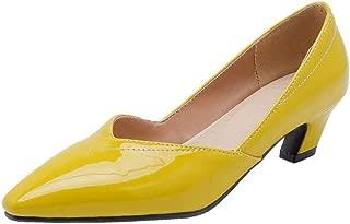 BeiaMina Women Fashion Low Heel Pump Slip On