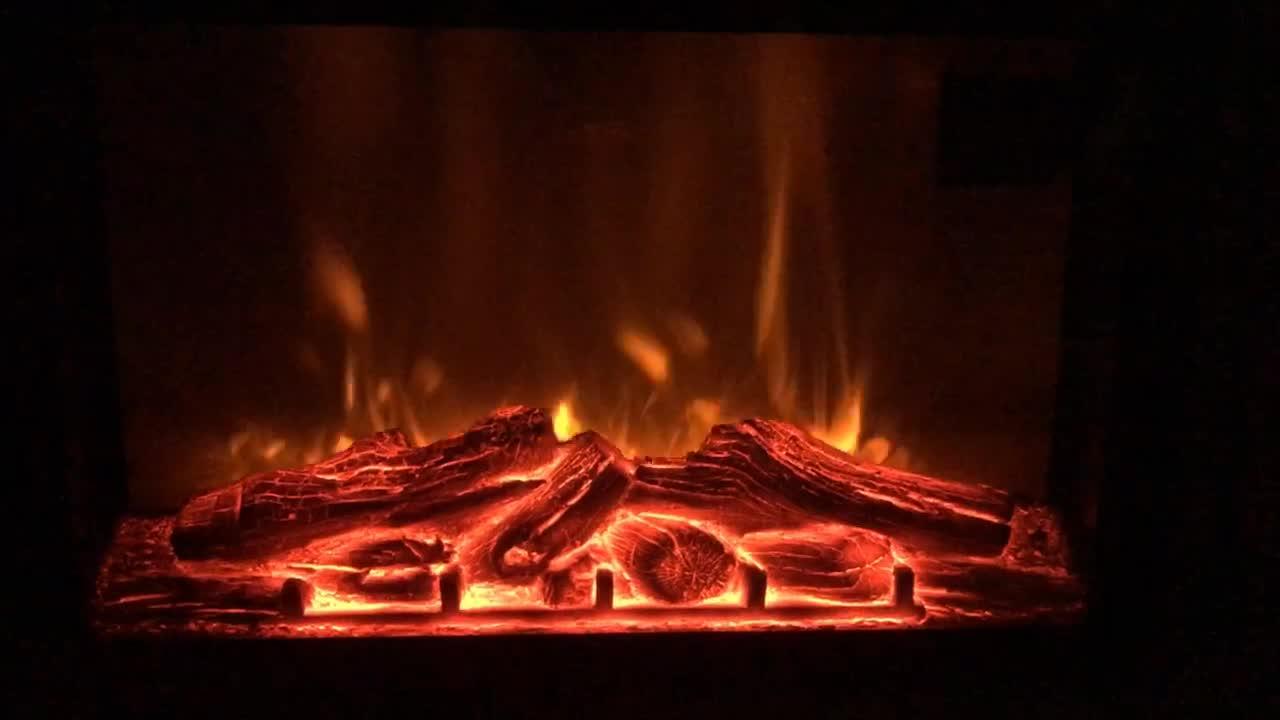 Titan Flame Model EF-30BF 26 Flat LED Insert Electric Fireplace
