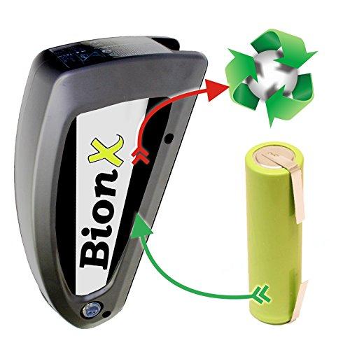 akkutauschen.de Zellentausch Refresh kompatibel u.a. mit Fahrradakku E-Bike E Bike BionX 48V 11,6 Ah *Ausgezeichnet mit dem Qualitätssiegel Werkstatt N des Rates für Nachhaltige Entwicklung*