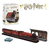 World Brands - Harry Potter - Expreso de Hogwarts Puzzles 3D, Kit de Construcción, Multicolor, DS1010H