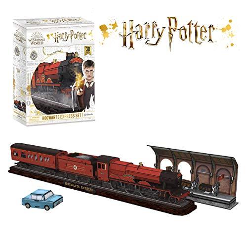 CubicFun Puzzle 3D di Harry Potter Hogwarts Express (180 pezzi), DS1010H