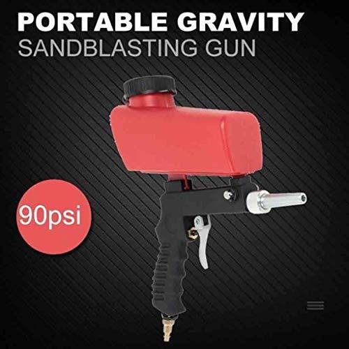 Find Bargain Sand blasting gun Portable Sand Blasting Nozzle Gun Gravity Feed Sandblast Gun Replacea...