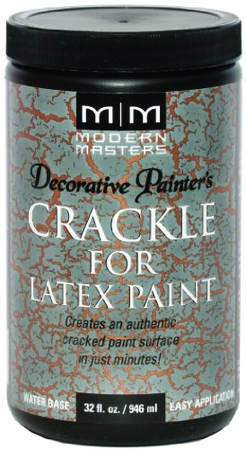 Modern Masters DP601-32 Crackle For Latex Paint, 32-Ounce