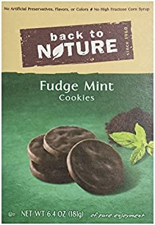 Back to Nature Cookies - Fudge Mint - 6.4 oz by Back to Nature