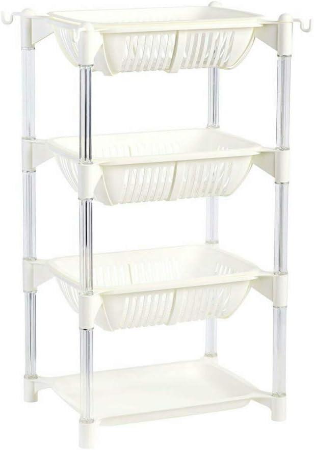 DENESTUS 4 Layer Storage Kitchen R Vegetable Sales of SALE Ranking TOP6 items from new works Shelf Plastic Fruit