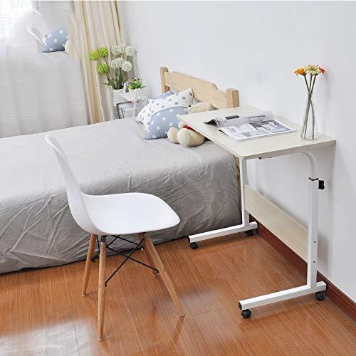 Escritorios de regazo para la oficina en casa Tabla plegable de la computadora portátil del ordenador portátil del escritorio del portátil 80 * 40 cm Rotar la mesa de la cama de la computadora portáti