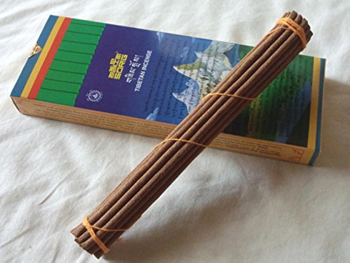 暴力アーネストシャクルトン肺Men-Tsee-Khang/メンツィカンのお香-お徳用トリプル SORIG Tibetan Incense big 約20本入×3束