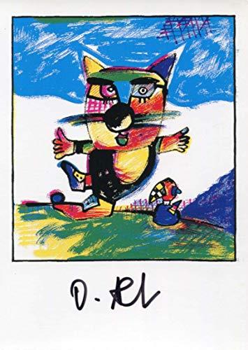 ARTIST Otmar Alt autograph, signed art card
