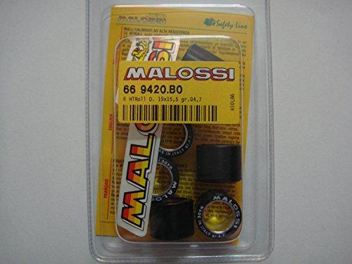 Malossi Variatorrollen, 19 x 15,5 mm, Gewicht: 4,3 g, 4,7 g, 5 g, 5,5 g, 5,7 g, 6,1 g, 6,5 g, 7,2 g, Artikelnummer: 669420 4,7 gr.
