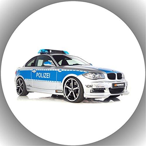 Fondant Tortenaufleger Tortenbild Geburtstag Polizei AMA1