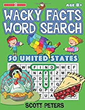 Wacky Facts Word Search: 50 US States (Wacky Facts Activity Books)