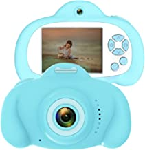 CamKing Kids Camera for Girls or Boys, Anti-Drop Kid Digital Camera with Soft Silicone Shell and 8 Mega Pixel Dual Lens 2.4 inch HD Screen with Mic, Great Gift for 4-8 Year Old Girls