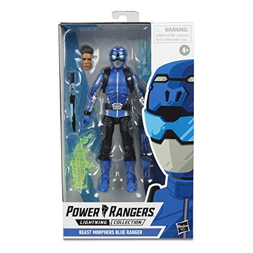 Power Rangers Lightning Collection 6' Beast Morphers Blue Ranger Collectible Action Figure Toy with Accessories