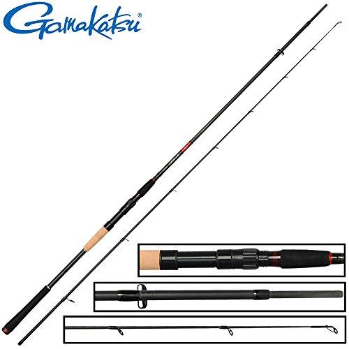 Gamakatsu Akilas 80XXH 2,40m 25-80g - Spinnrute zum Hechtangeln & Zanderangeln, Hechtrute zum Spinnfischen, Zanderrute zum Jiggen