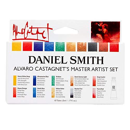 Daniel Smith Special Edition Watercolor Set, 10-Color 5ml Alvaro Castagnet Watercolor Set,Multicolor