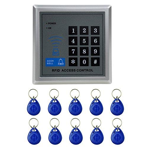 RFID Zugangssystem Codeschloß Zutrittskontrolle mit 10 Schlüssel