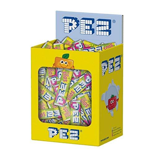 Pez Recarga - Caramelo comprimido sabor frutas ácidas - Sour Mix - 850 gramos