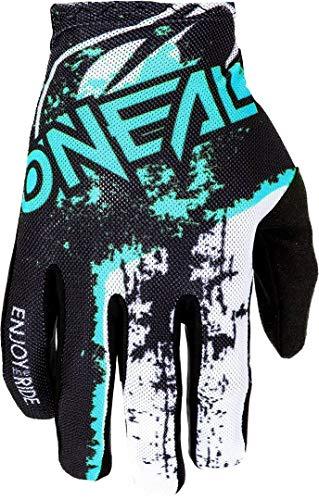 O'NEAL Oneal 0391-509 Handschuhe, Erwachsene, Unisex, Schwarz/Teal, M