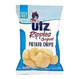UTZ Ripples Original Potato Chips 2.875 oz Bags - Pack of 7