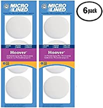 Hoover Linx Platinum Collection 2 Layer Replacement Filters, 6 Pack