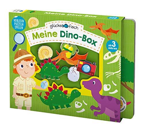 Glücksfisch: Meine Dino-Box: Vorlesen - Puzzlen - Spielen