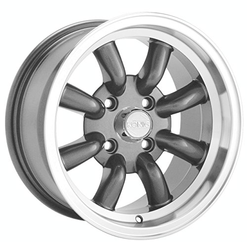 "Konig Rewind Graphite Wheel with Machined Lip (16x7""/4x114.3mm)"