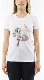 reputable site 4e548 1905d Amazon.it: PATRIZIA PEPE - T-shirt, top e bluse / Donna ...