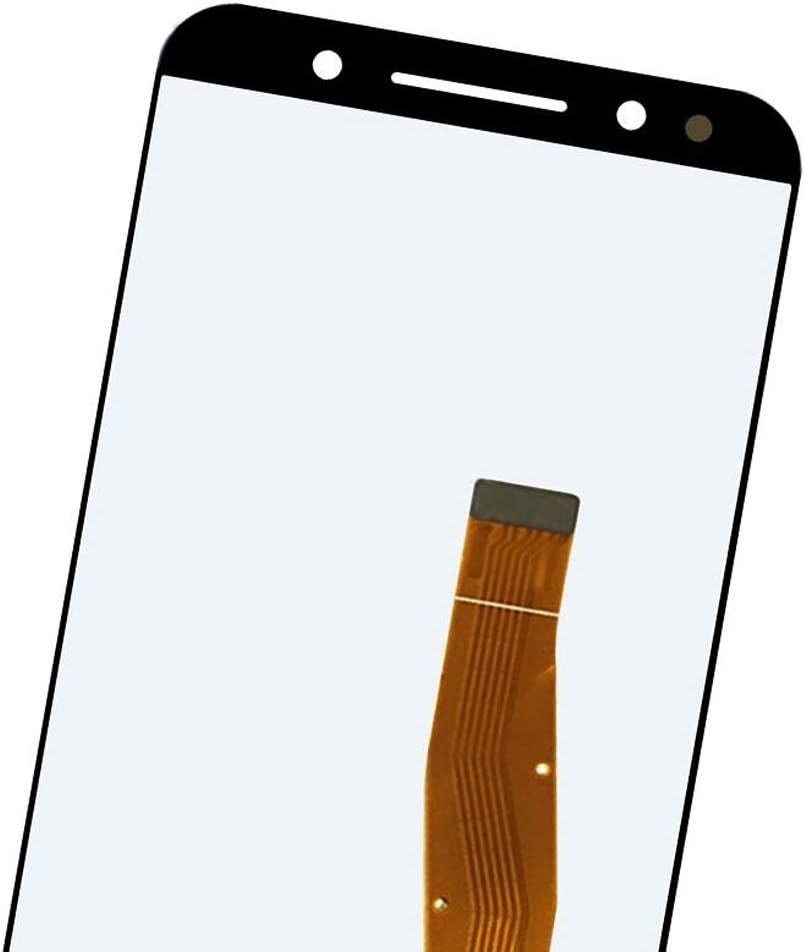 GuiPing LCD Screen and Digitizer Full Assembly for Alcatel 3L 5034D 5034 Color : Black Durable Black