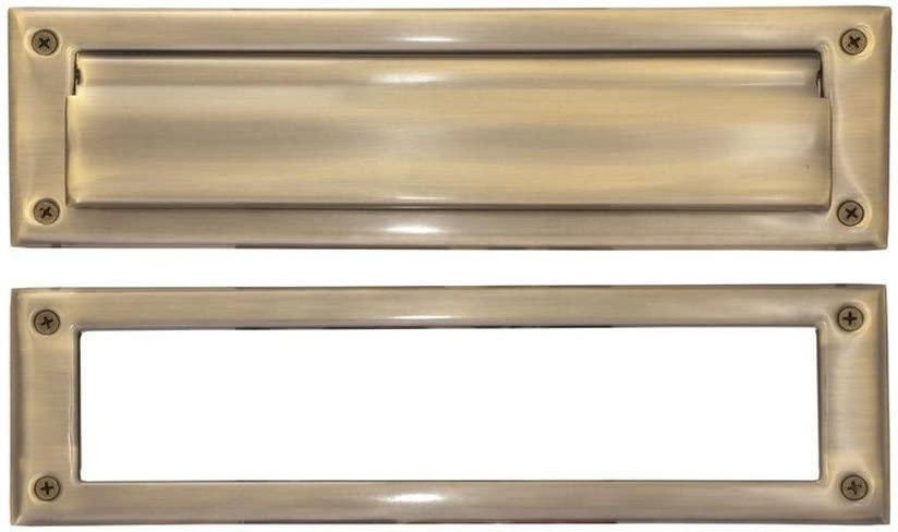 Brass Accents Cheap sale 3 x 10-inch Year-end annual account Mail Slot Antique