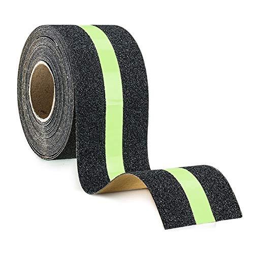 Glow In The Dark Tape Night Lichtgevende Anti-Slip Trappen Grip Tape Matte Waarschuwing Schuurpapier Stickers Roll voor Indoor Outdoor
