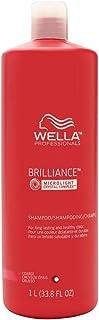 Wella SP Brilliance Shampoo For Coarse Colored Hair Shampoo, 1013 ml