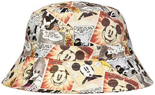 Desigual Womens HAT_Mickey Comic Sun Hat, White, U