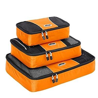 eBags Packing Cubes - 3pc Set (Tangerine)