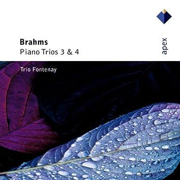 Brahms : Piano Trios Nos 3 & 4  -  Apex
