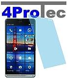 4ProTec I 2 Stück GEHÄRTETE ANTIREFLEX Bildschirmschutzfolie für HP Elite x3 Displayschutzfolie