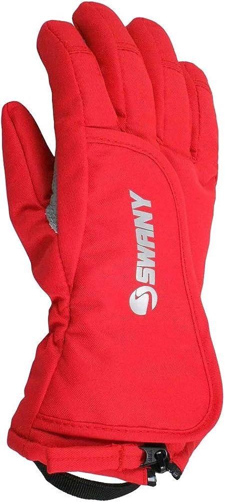 Swany Junior Zap Glove, Red, Medium