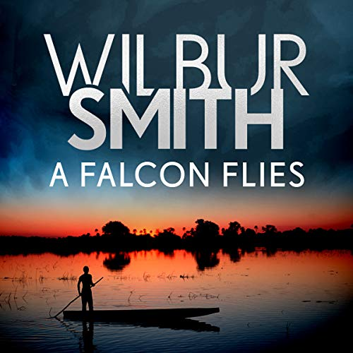 A Falcon Flies audiobook cover art