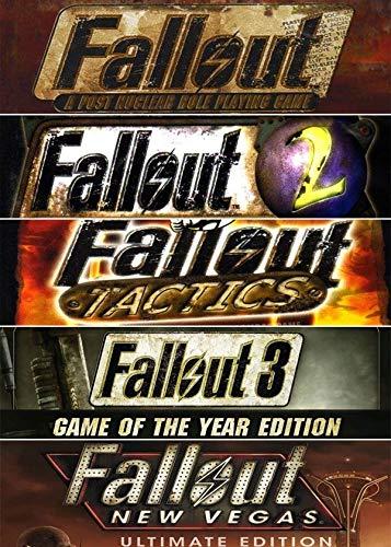 Fallout 1, 2, 3 GOTY, Tactics + New Vegas uncut Collection Pack (Softbundle)